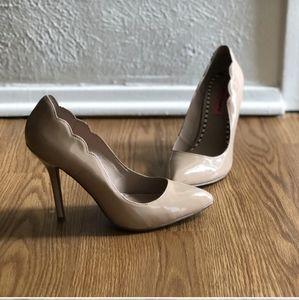Betsey Johnson Nude Heels